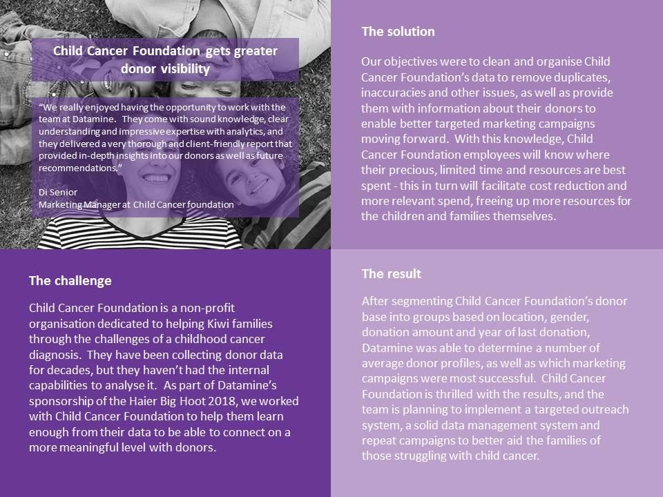 201805 Child Cancer Foundation PPT