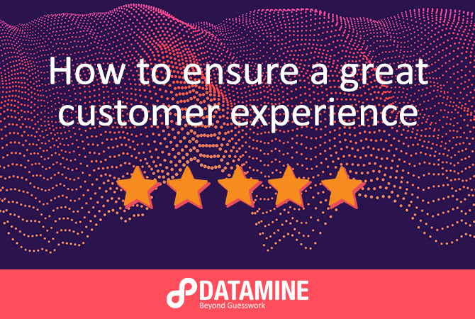 How to ensure a great customer experience