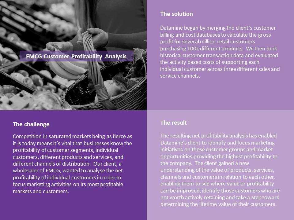 PowerPoint Case Study for FMCG