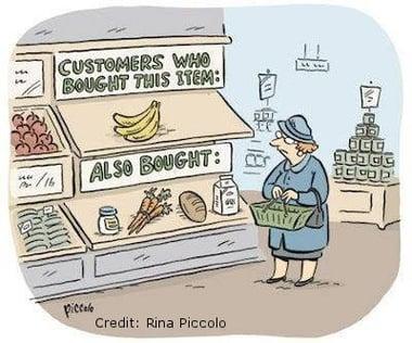 marketing personalisation cartoon