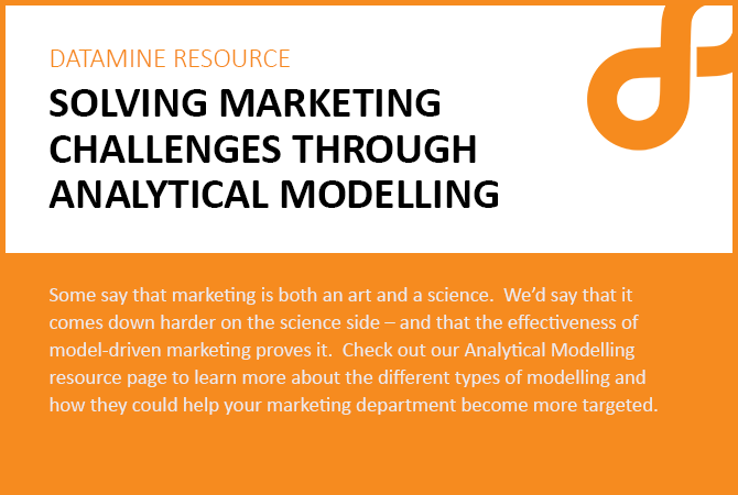 Solving Marketing challenges through analytical modelling image2