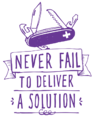 Never fail to deliver a solution-301