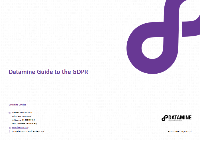 GDPR guide cover image