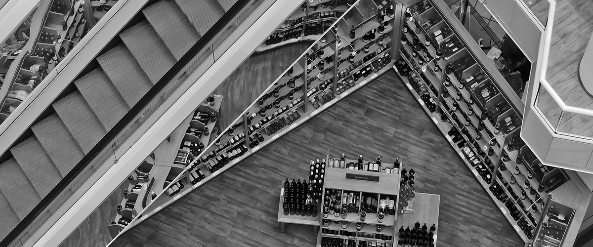 shopping mall from above retail marketing campaigns
