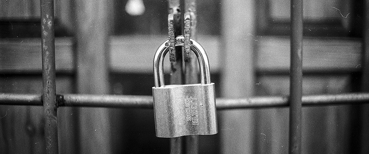 ccpa and gdpr lock on a gate