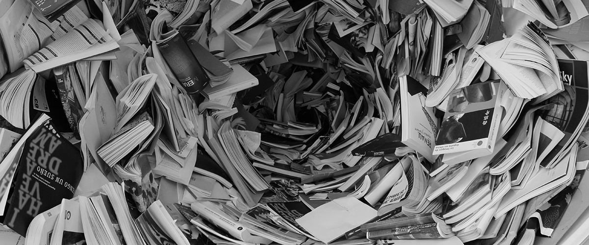 how bad is your data messy paper and books