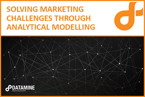 Solving Marketing challenges through analytical modelling