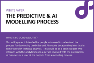Predictive and AI modelling image