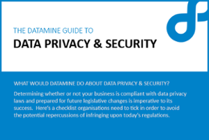 Datamine guide to the GDPR cover image
