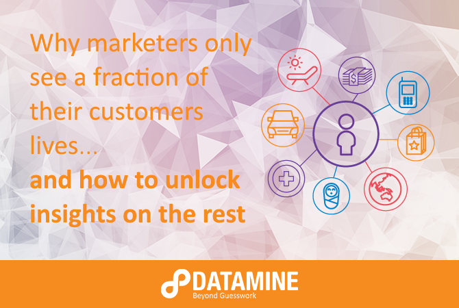 Marketers only see a fraction of their customer's lives - and how to unlock insights on the rest
