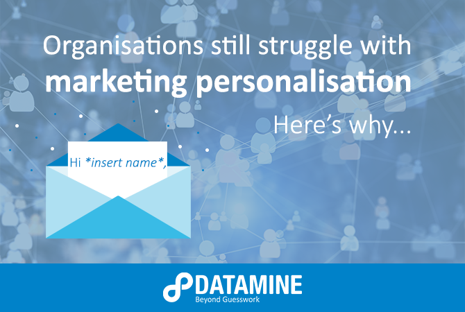 Marketing Personalisation Cover Image