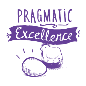 Datamine values Pragmatic Excellence