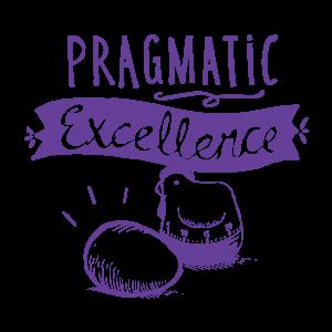 Datamine values Pragmatic Excellence